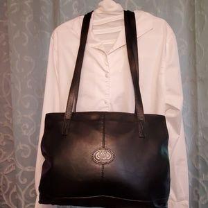 Italian leather purse